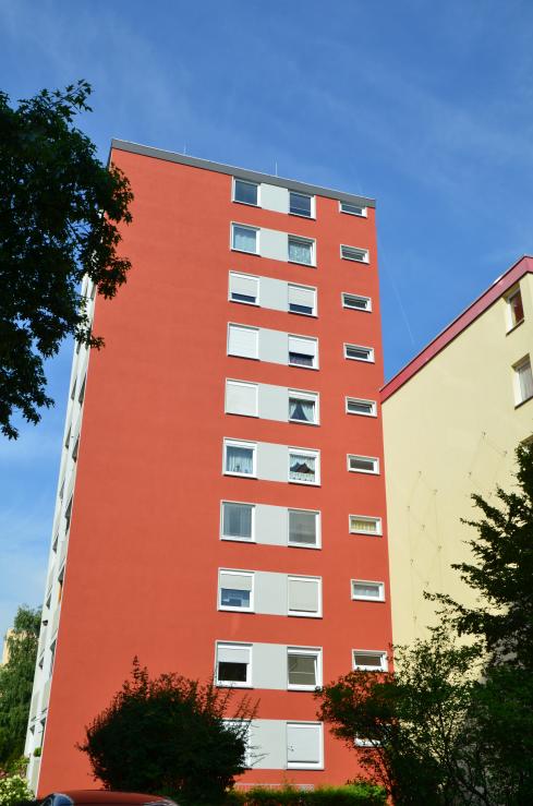 Fassadenrenovierung Goethering in Stein
