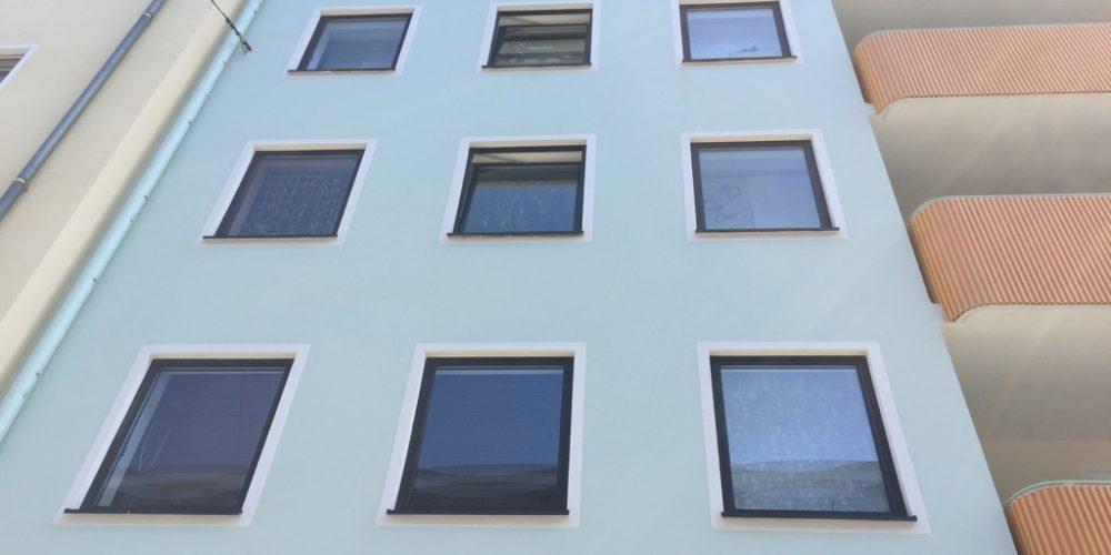 Fassadenrenovierung Maxfeldstrasse in Nürnberg