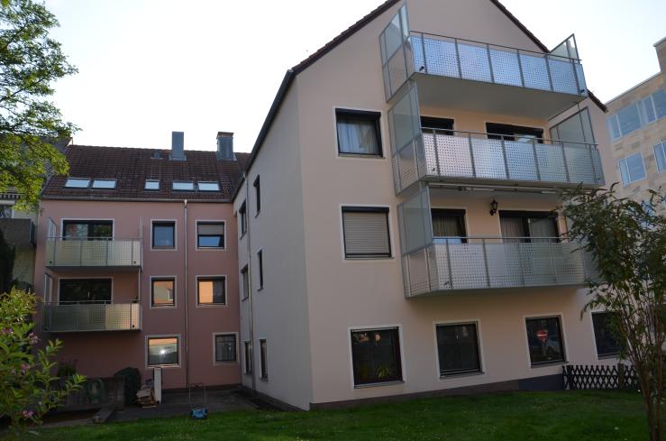 Fassadenrenovierung Wollentorstrasse in Nürnberg