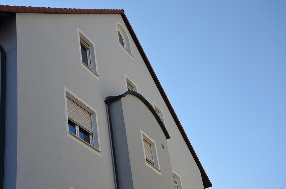 Fassadenrenovierung Bucher Graben in Stein