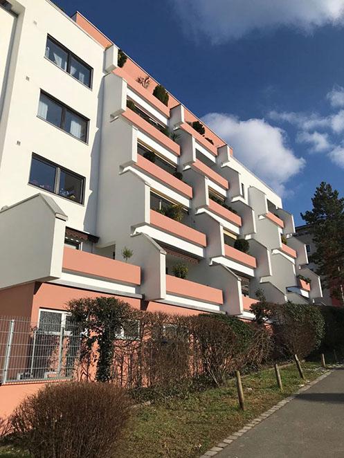 Fassadenrenovierung Mögeldorfer Haupstrasse in Nürnberg