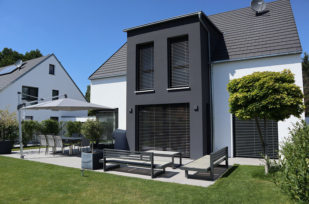 Fassadengestaltung/WDVS Einfamilenhäuser Zirndorf